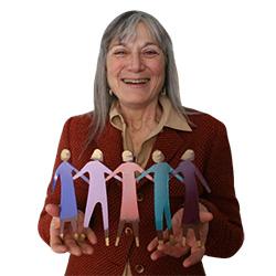 Jill with dolls